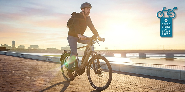 De Gazelle Ultimate speed 380 is de speed e-bike  van het jaar geworden!